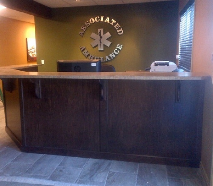Drayton Valley Reception Desk