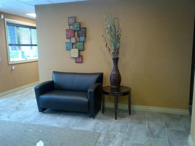 Drayton Valley reception area