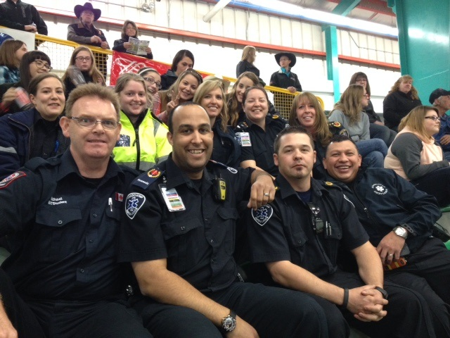 Drayton Valley crews covering rodeo.jpg
