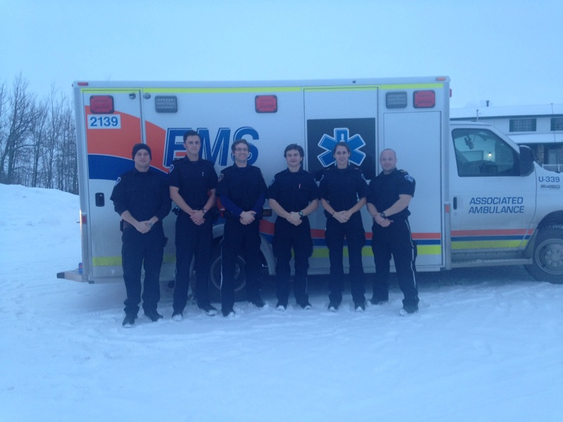Mayerthorpe and Evansburg crew Christmas Day 2014
