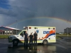 Drayton Valley under the rainbow