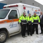Ambulance donated to Mexico