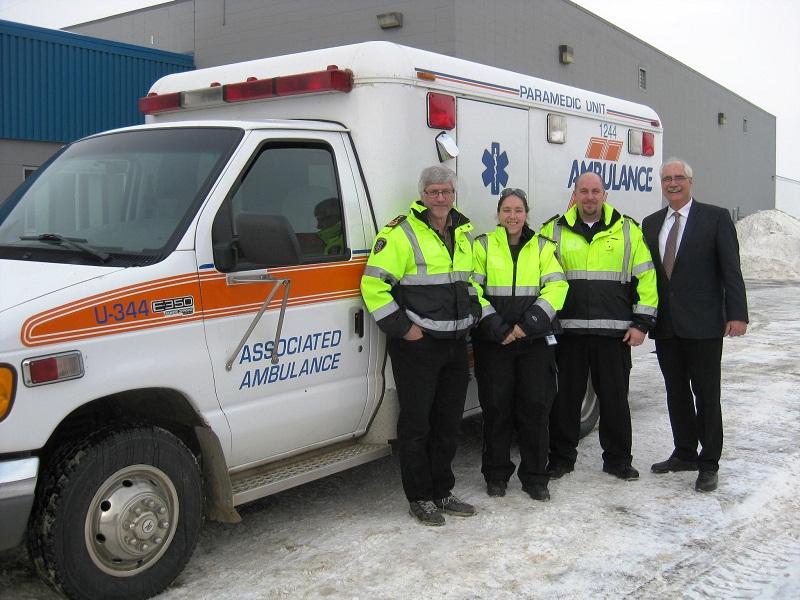 Ambulance donated to Mexico