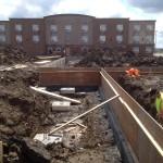 Drayton New Station underconstruction